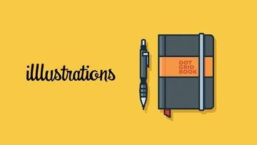 illlustrations - 精美的物品主题免费商用插画素材