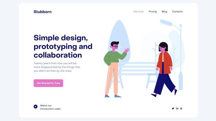 Stubborn Generator - 可生成免费商用扁平插画的神网站