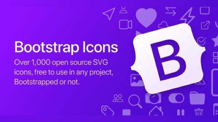 Bootstrap Icons - bootstrap 专用的漂亮开源图标库,可以免费商用