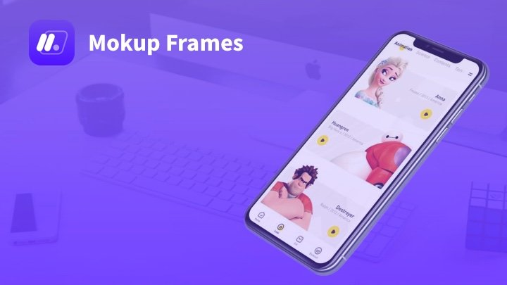 MokupFrames - 免费的UI设计作品样机演示包装神器