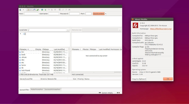 FileZilla-for-linux