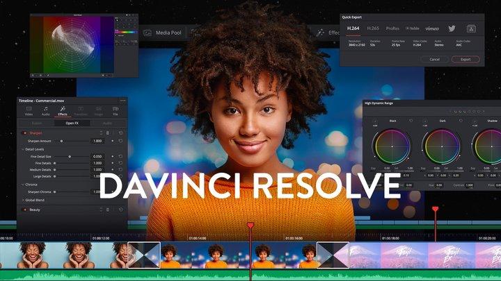 DaVinci Resolve - 达芬奇剪辑!好莱坞级别的免费视频剪辑制作软件(PR的强大代替品)