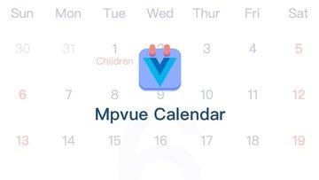 Mpvue Calendar - 一款基于 Vue 3的开源日历组件,功能丰富,支持多种模式和手势滑动